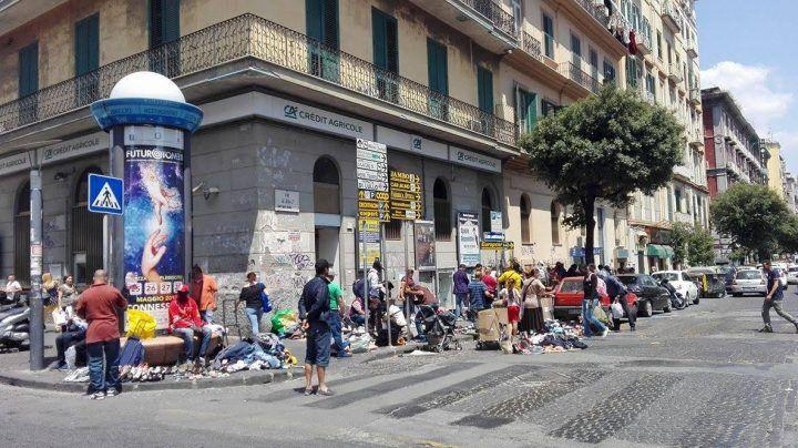 Napoli, vigili urbani aggrediti a Porta Nolana