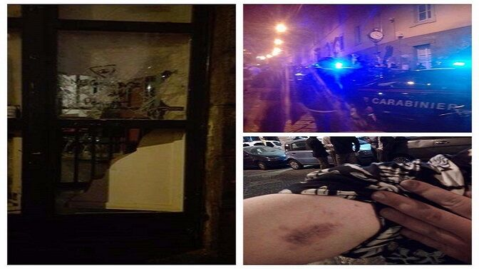 Notte di caos a Mezzocannone, parapiglia e contusi in un blitz per il volume