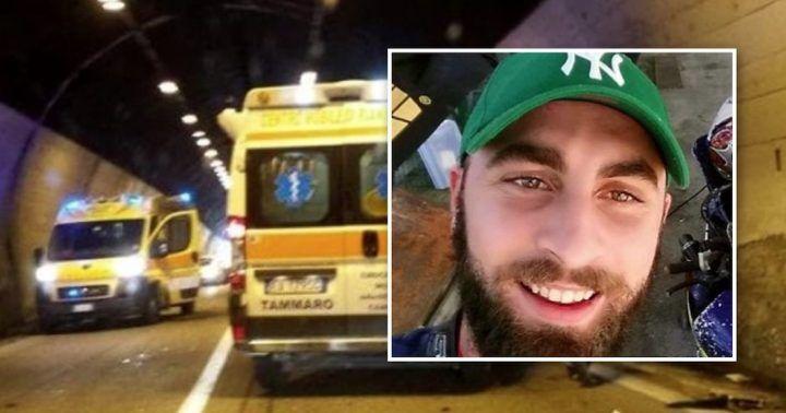 Vico Equense, Luca Iaccarino muore a 26 anni in tragico incidente