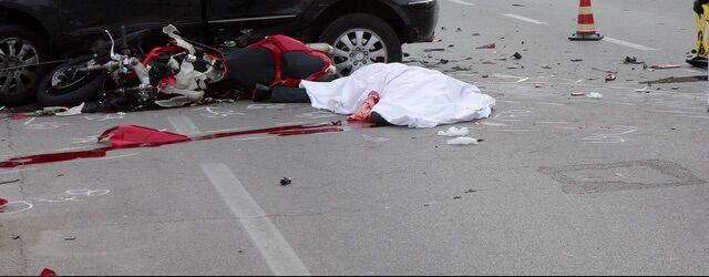 Campagna, tremendo incidente tra auto e moto: morto Giancarlo Galetti