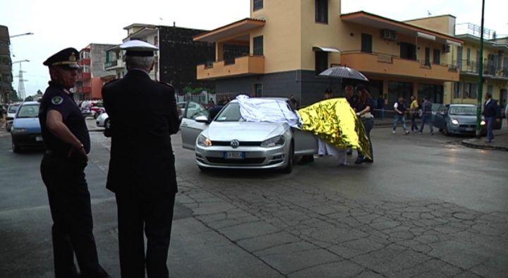Afragola, omicidio in via Croce: Salvatore Caputo ucciso in un agguato. VIDEO