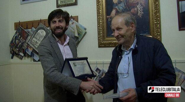 Parete, festeggiamenti conclusi: il comitato assegna una targa a TeleClubItalia
