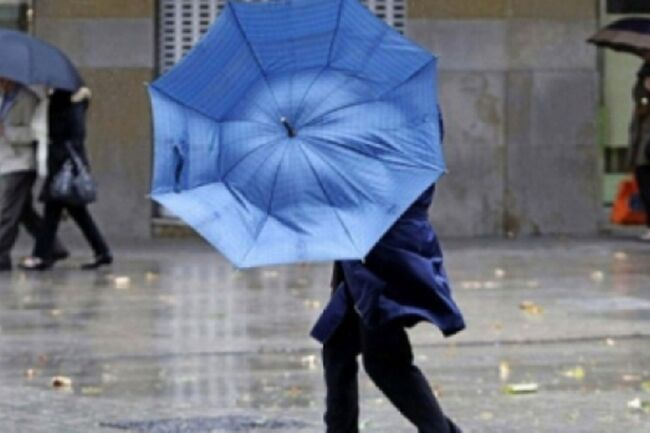 Allerta Meteo in Campania di colore giallo: previsti temporali e raffiche di vento
