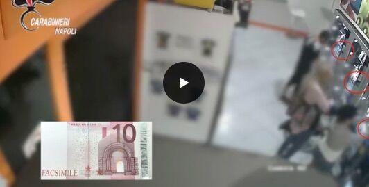 Sorrento. Facevano acquisti con banconote false: scoperta banda