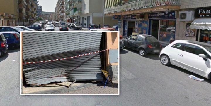 Marano, in azione banda della spaccata: bottino da 1000 euro in centro scommesse