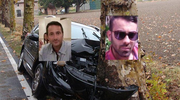 Vairano, incidente mortale: due morti. Si tratta di Fabio Punzo e Gustavo De Iorio