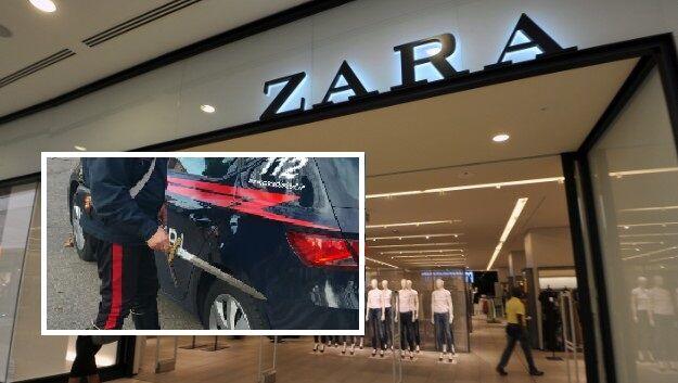 Marcianise, i Carabinieri arrestano ladro in flagrante da Zara