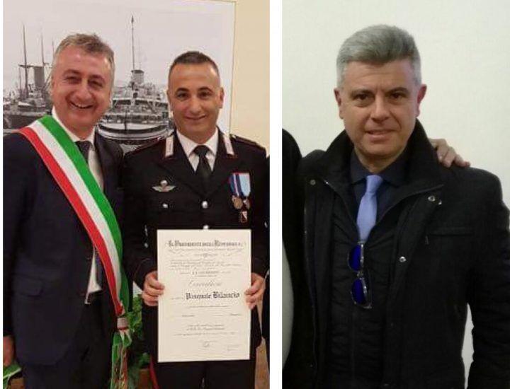 Carabinieri, i marescialli Febbraio e Bilancio nominati Cavalieri della Repubblica