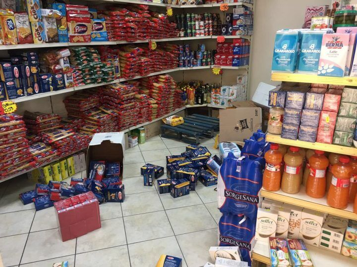 Giugliano, furto nella notte in un negozio di via Frezza: portati via liquori e contanti