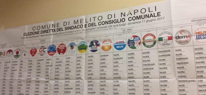 Elezioni Melito, ecco tutte le preferenze per i candidati al consiglio comunale