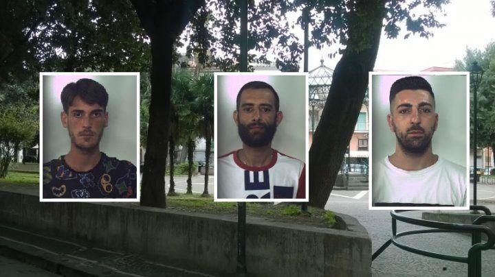 Aversa, spaccio di droga in piazza Principe Amedeo. Tre arresti in flagranza