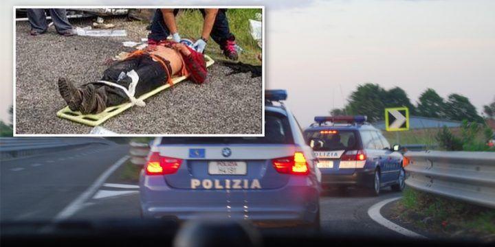 Caserta, ha un infarto in autostrada: i poliziotti gli salvano la vita