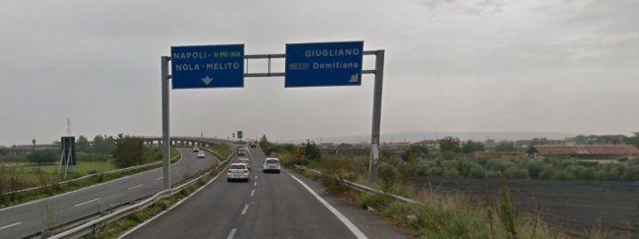 Asse Mediano, disagi per gli automobilisti: chiude la rampa d'accesso per Napoli