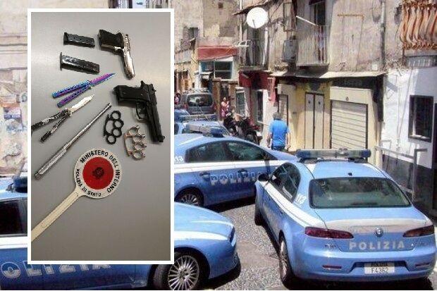 Napoli, baby gang scatenate al centro: scattano le perquisizioni