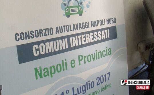 Nasce il consorzio autolavaggi Napoli Nord