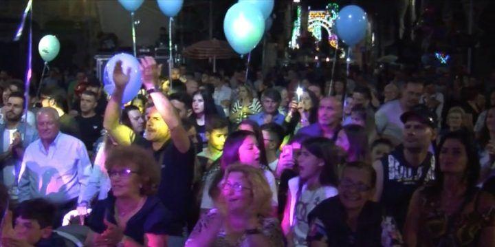Madonna della Pace 2017, disco live in piazza Annunziata