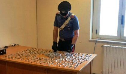 dosi marijuana carabinieri melito