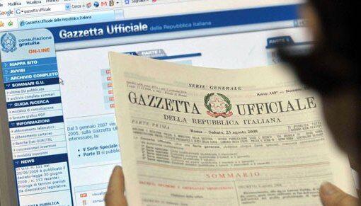 Concorso Cancellieri, diario prove scritte nella gazzetta ufficiale del 9 giugno