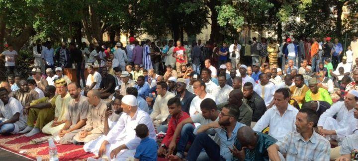 Giugliano, festa di fine Ramadan in villa comunale
