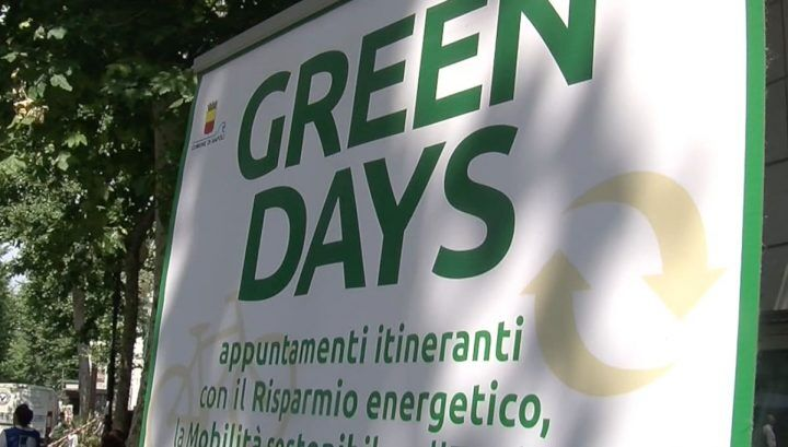 Energy Med, secondo appuntamento con i Green Days in via Scarlatti