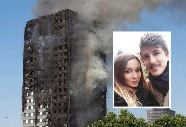 Incendio a Londra, morti Gloria e Marco