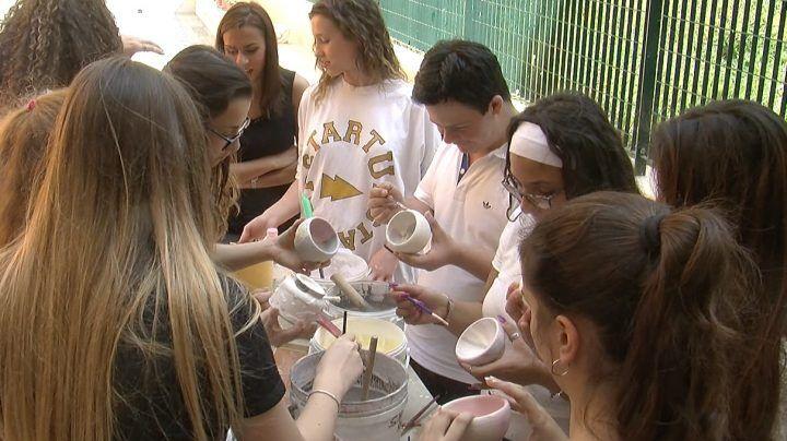 Marano, corso di ceramica raku al liceo Carlo Levi