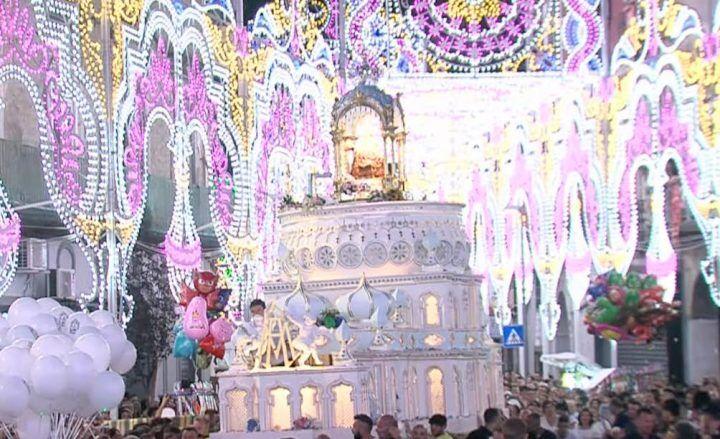 Madonna della Pace, l'ottava: il volo dell'angelo e la processione
