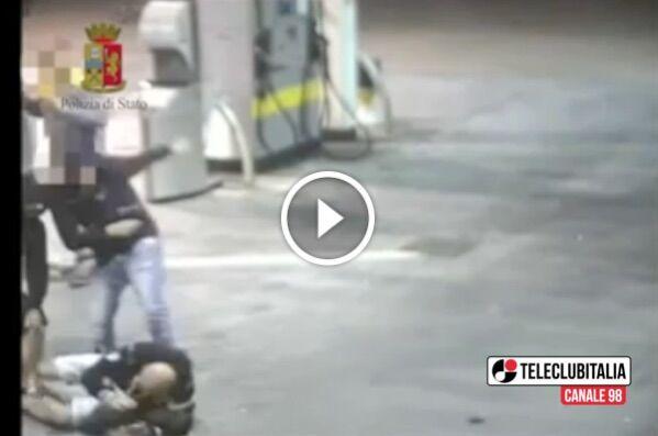 Anagni, assalto al bus dei tifosi juventini: in manette tre napoletani. VIDEO