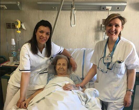 Napoli, operata al femore a 102 anni all'ospedale Betania: dimessa dopo 5 giorni