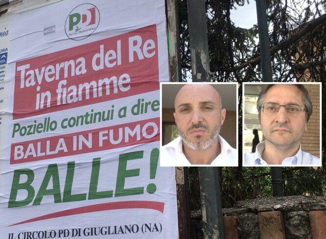 """Manifesto Pd contro Poziello su Taverna del Re. Pirozzi: """"Non attacchiamo governatore"""". Castaldo: """"Non siamo sudditi di De Luca"""""""