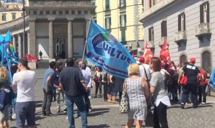 """Protesta operatori del turismo a Napoli: """"Il prefetto ci ha rassicurato"""""""