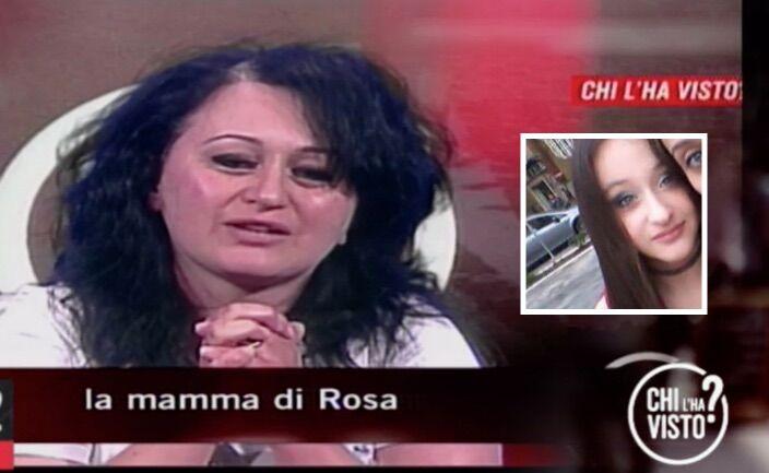 """Sant'Antimo, scomparsa di Rosa: nuovo appello disperato della mamma a """"Chi l'ha visto?"""""""