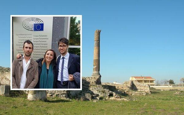 Scavi di Liternum patrimonio dell'Unesco, missione M5S a Bruxelles