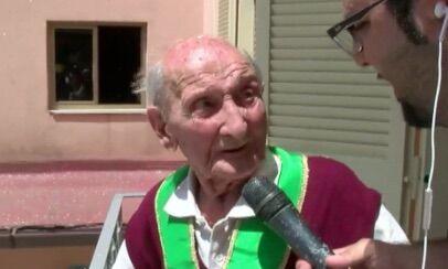 Madonna della Pace, la storia del signor Francesco: in 97 anni miracolato 5 volte