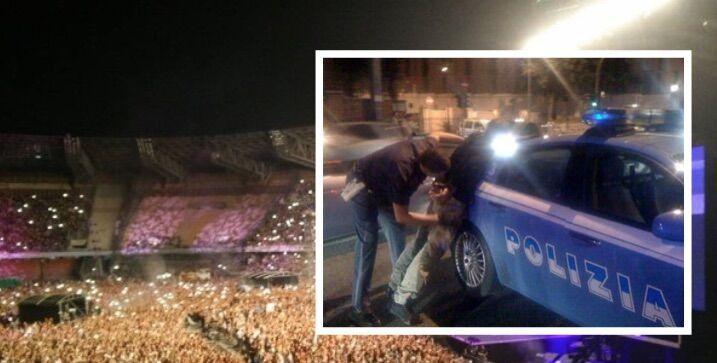 Spaccio fuori allo stadio San Paolo tra la folla del concerto, due arrestati: uno è di Qualiano. I NOMI