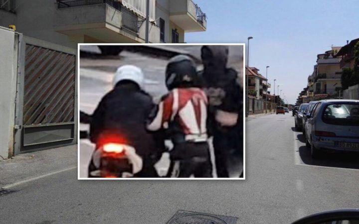 Giugliano, tentano di rapinarlo dello scooter. La moglie li mette in fuga