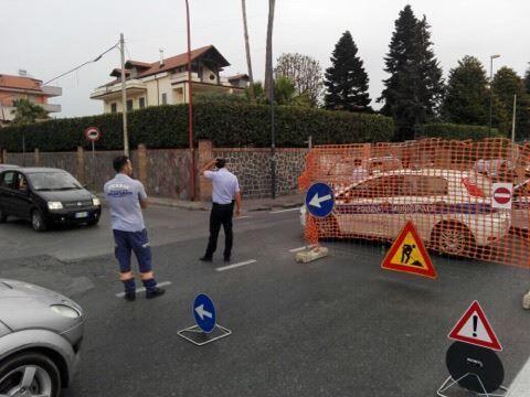 Villaricca, chiuso tratto di Corso Italia