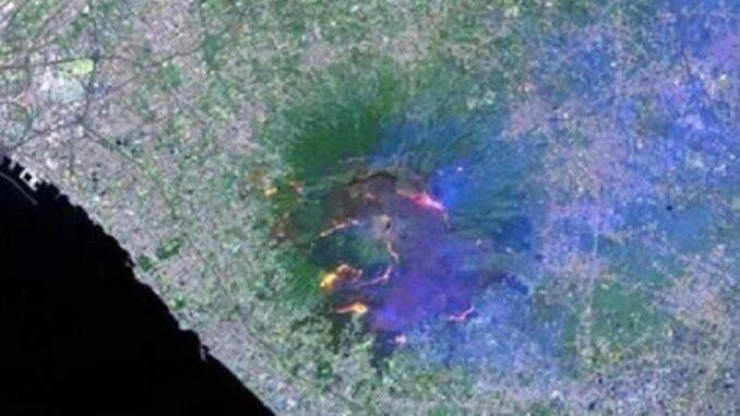 Danni irreparabili sul Vesuvio: cento gli ettari distrutti dalle fiamme