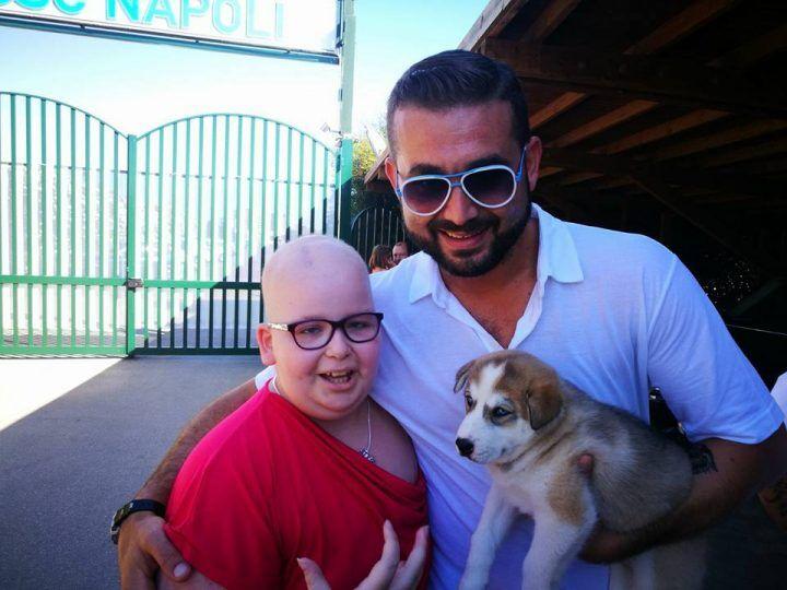 Giugliano, il bel gesto: il Napoli fa un regalo ad Aurora