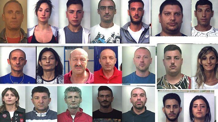 Operazione dei carabinieri contro la spaccio di stupefacenti: 21 indagati