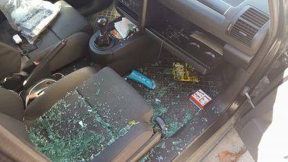 Auto danneggiata1