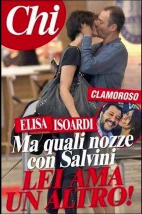 Salvini foto tradimento Elisa Isoardi