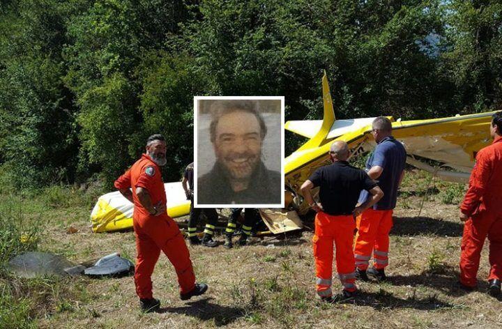 Tragedia in Campania. Precipita un velivolo: morto sul colpo il pilota