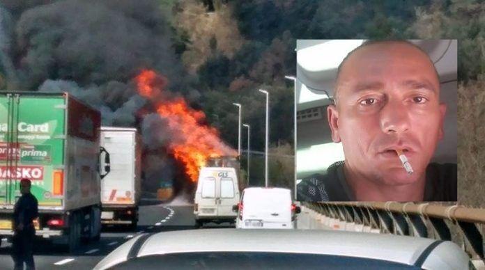 San Felice in lutto, il camionista Antonio Russo muore carbonizzato nel suo tir