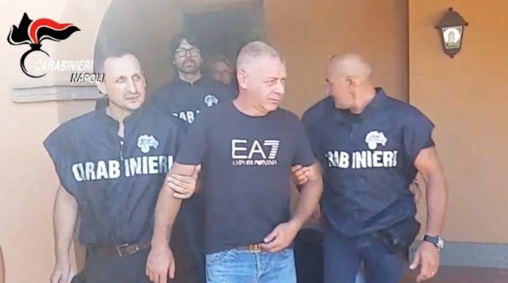 Marano, arrestato Giuseppe Simioli: è il boss del clan Polverino. VIDEO