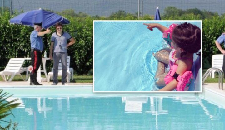 Castagnaro (Verona), bimba di 2 anni annega nella piscina di casa