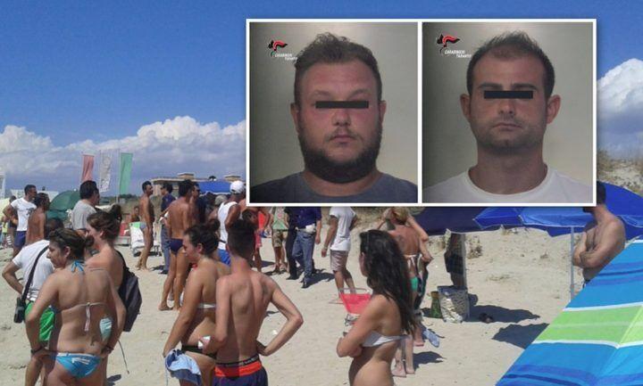 Racket delle granite, rissa in spiaggia: arrestati due casertani