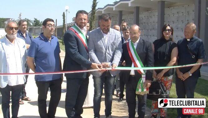 Mugnano-Calvizzano, inaugurata nuova ala del cimitero. VIDEO