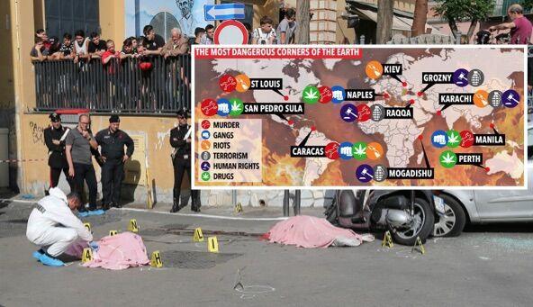 """Il Sun: """"Napoli tra le 10 città più pericolose al mondo"""". Ma c'è uno studio che smentisce il tabloid inglese"""