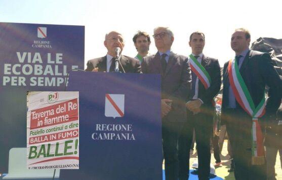 """Ecoballe, il Pd di Giugliano attacca Poziello: """"Rimozione al palo. Sindaco servile con De Luca"""""""